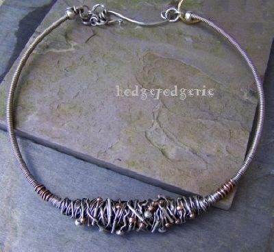 Copper And Brash Choker Urban Renewal The Chrysalis Is A Symbol Of