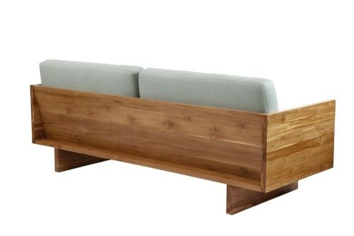 Sofa Em Pranchas De Madeira Sofa De Madeira Ideias Para Mobilia