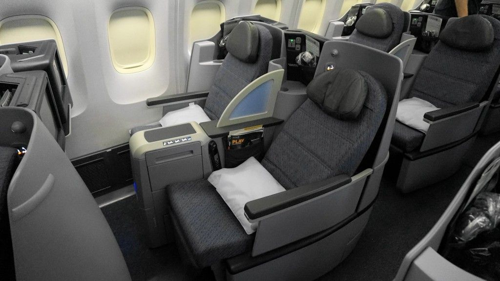 United Airlines B BusinessFirst Class Trip Report EwrHnl