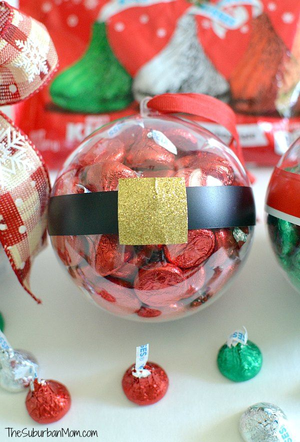 DIY Christmas Ornaments With Hershey\'s Kisses | Pinterest ...