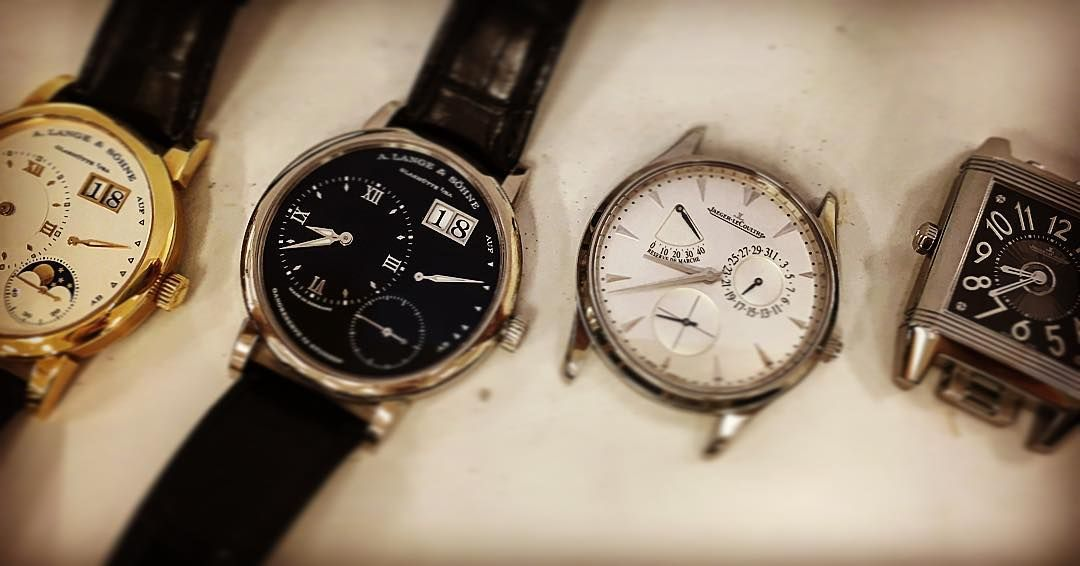 15746ce71ad  clockwise  servicing A Lange  amp  Shone and Jaeger lecoultre .