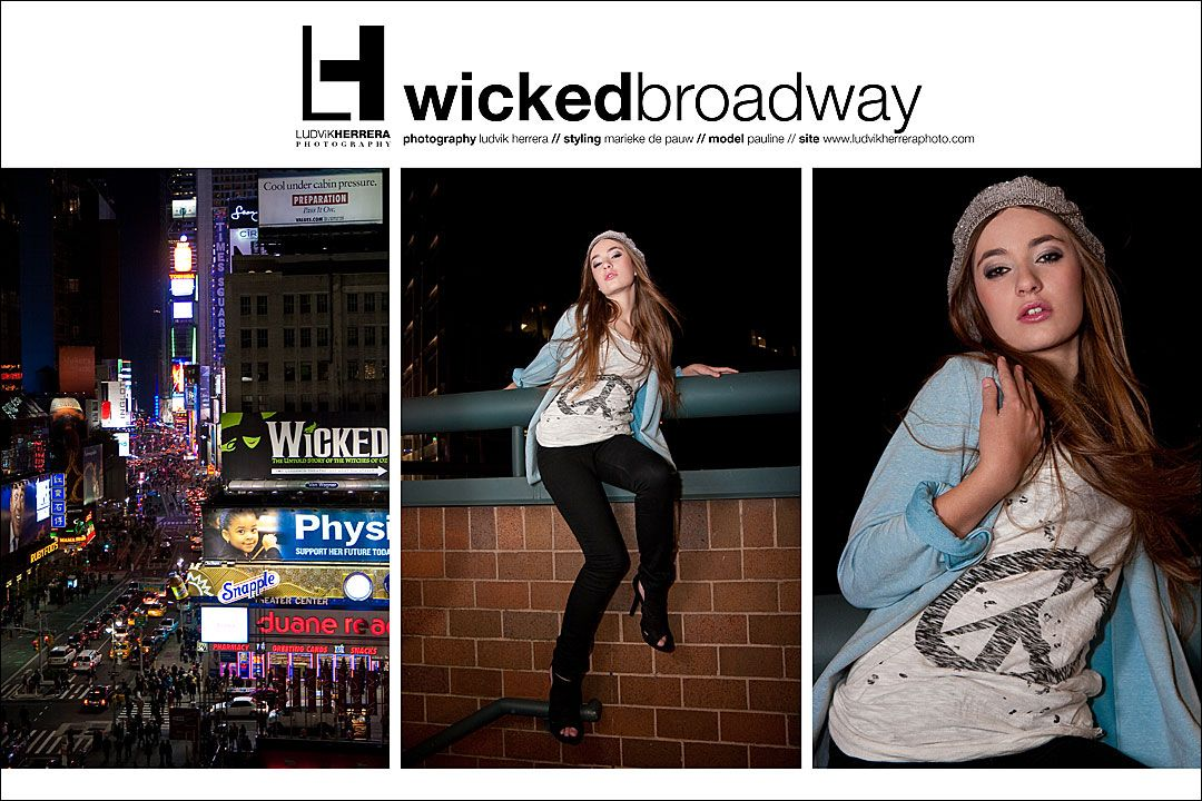 Wicked Broadway by Ludvik Herrera//Model: Pauline Grossen//Styling: Marieke de Pauw//© 2010.
