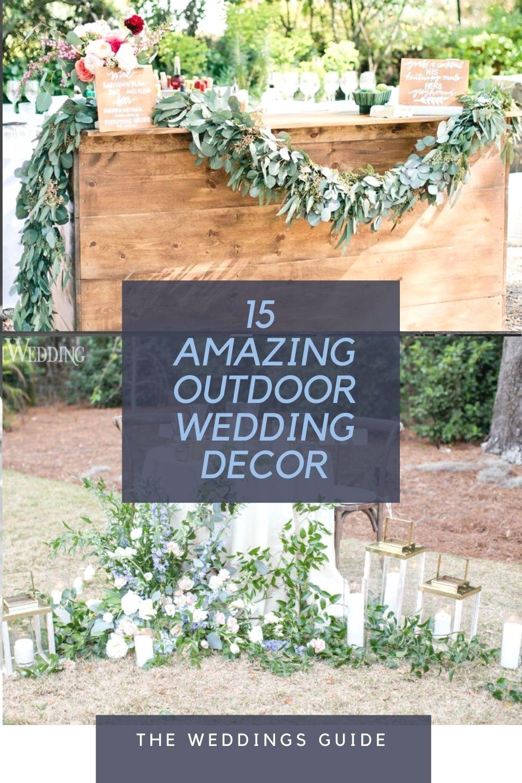 Amazing Outdoor Wedding Decoration In 2020 Outdoor Wedding Decorations Wedding Decorations Fun Wedding Decor