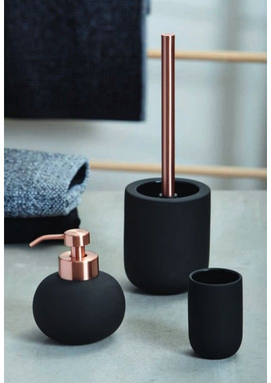 YIN YANG badkameraccessoires Keramiek zwart/koper | master bedroom ...