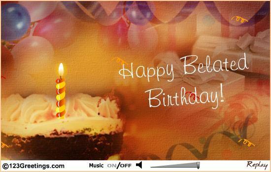 Wish happy belated birthday free belated wishes ecards greeting birthday images wish happy belated birthday free belated wishes ecards m4hsunfo