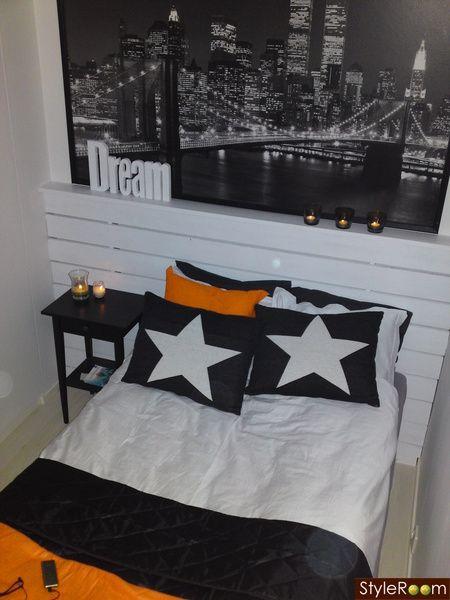Sänggavel enkel att göra själv och fin!! Säng Pinterest Sänggavel, Inredning och Heminredning