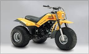 Yamaha dx 225  Grampa had one at the ranch. I have never come so close to dying so many times as when aboard this thing. Geometry did not lend to a stable ride especially off camber. A finer wheelie machine was never made in a yamy thumper trike. Although I never rode a tri-Z