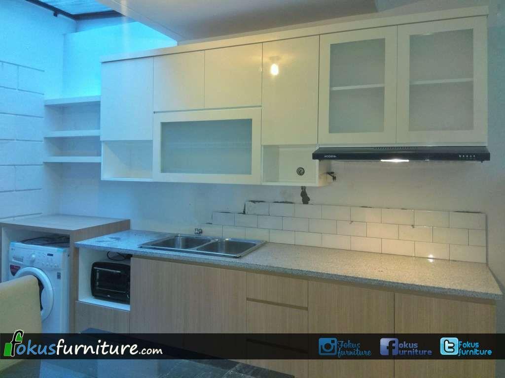 Kitchen set bintaro | Fokusfurniture.com kitchen set,lemari,custom ...