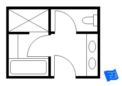Check Out These Master Bathroom Floor Plans From Standard Size To