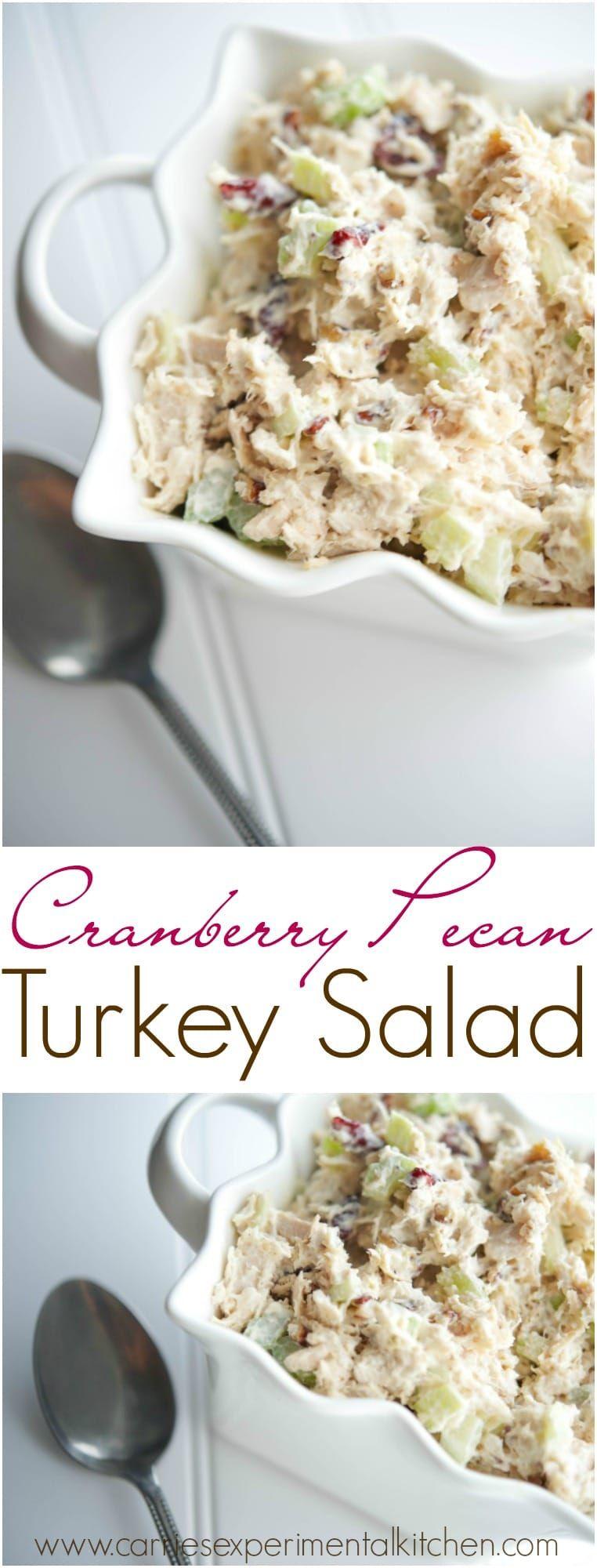 Photo of Cranberry Pecan Turkey Salad
