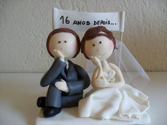 Noivinhos 16 Anos De Casados Com Imagens Noivo Aniversario De