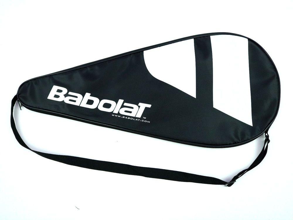 Tennis Racquet Cover Babolat Head Single Case Racket Logo Adjustable Strap Babolat Tennis Racquet Cover Racquets Tennis Racket