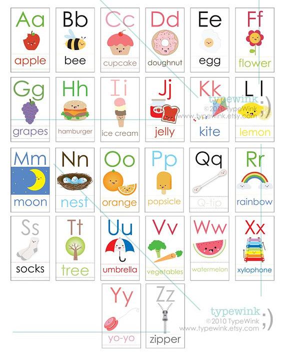 Printable Alphabet Letters Flashcards Pdf | mamiihondenk org