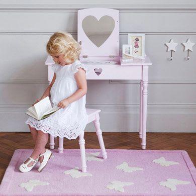Ordinaire Maisie Dressing Table U0026 Stool Set   Pink