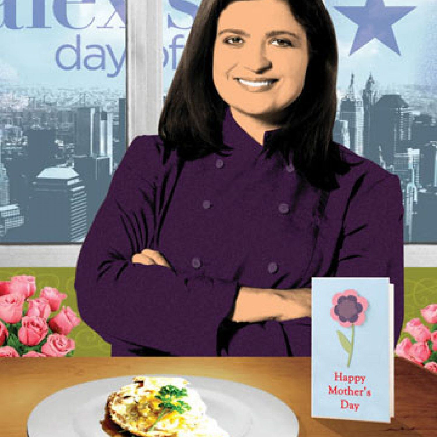 She's the executive chef at two NYC hot spots—Butter restaurant and a supper club with live entertainment called The Darby—and in her spare time tapes Food Network shows (Alex's Day Off, Chopped All-Stars and others). But Alex Guarnaschelli will still find time to celebrate special occasions with her family by whipping up simple, fresh meals like this omelet. - FamilyCircle.com