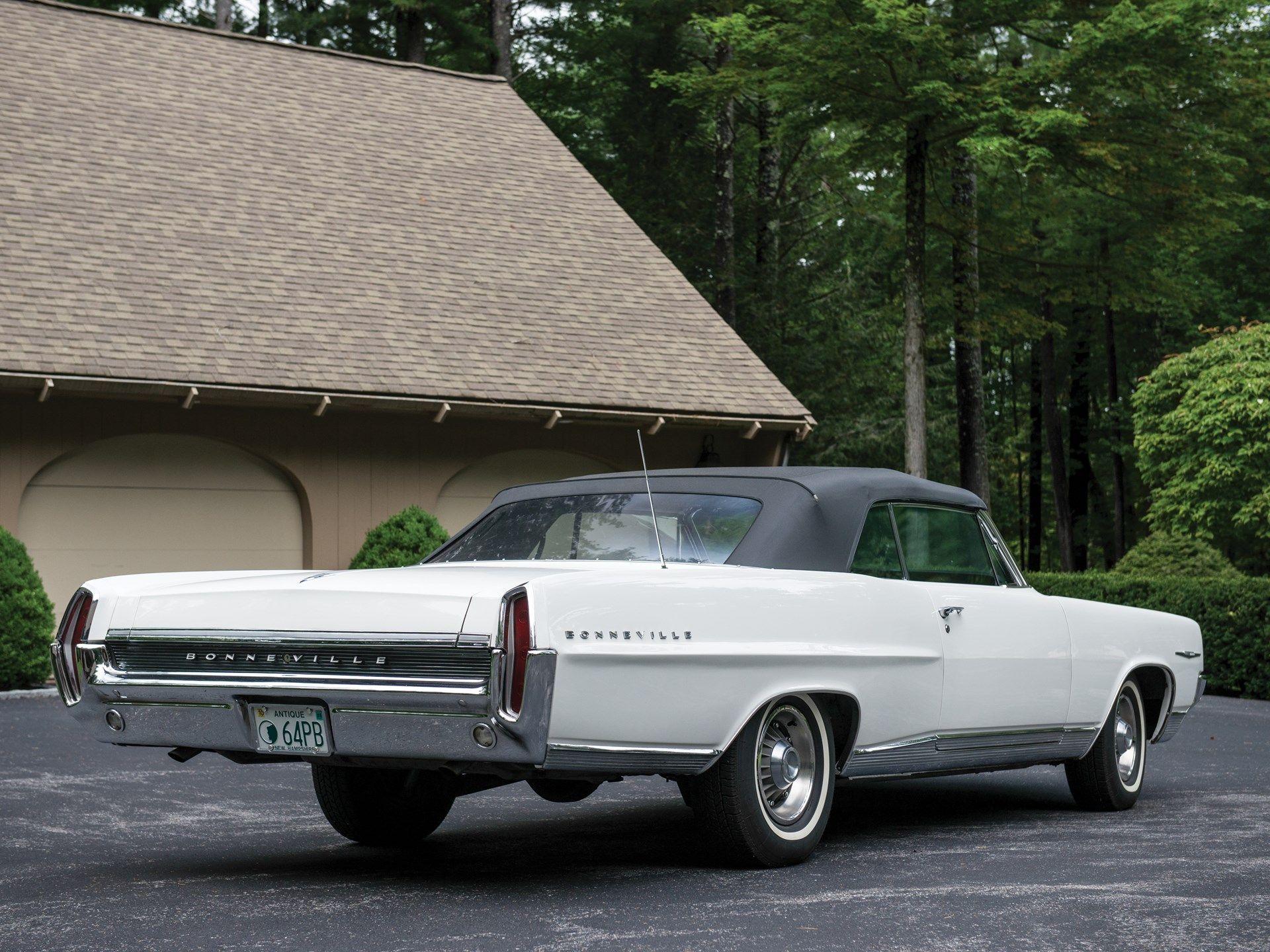 1964 Pontiac Bonneville Convertible Pontiac Bonneville