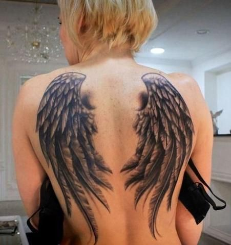 Top 10 Most Popular Tattoo Designs Of All Time Temporary Tattoo Blog Wings Tattoo Most Popular Tattoos Angel Wings Tattoo