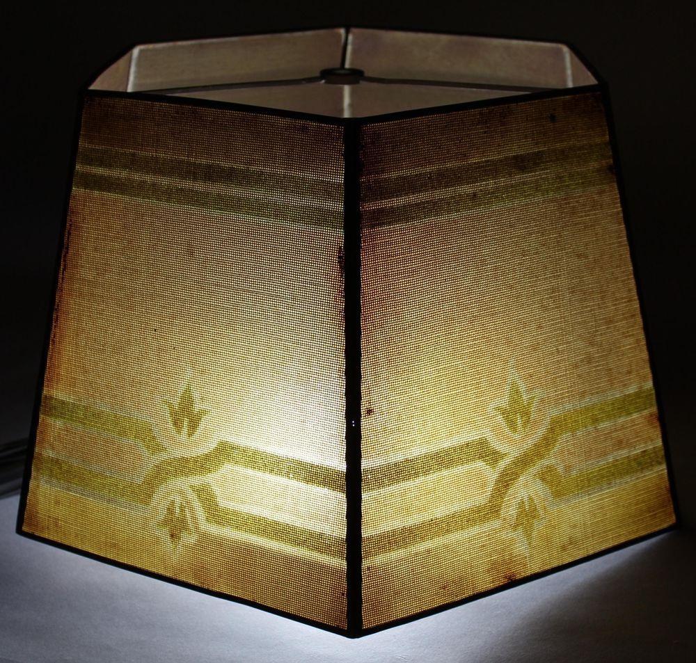 Click Now Antique Arts Crafts Rembrandt Painted Metal Mesh Lamp Shade Nr Metallic Paint Antique Art Metal Mesh