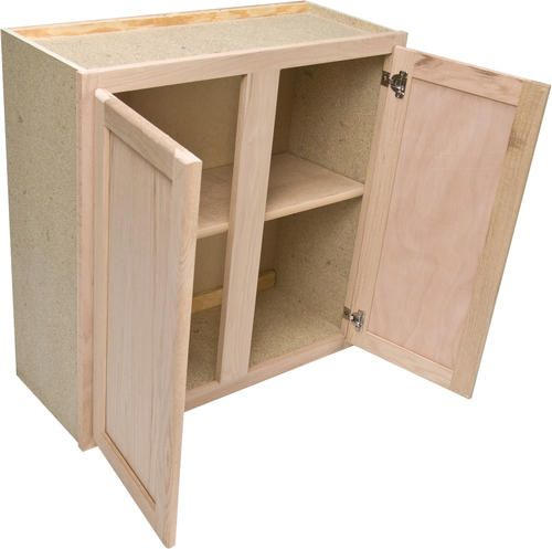 Quality One 30 X 30 Unfinished Oak Standard Wall Cabinet At Menards 79 Bathroom Wall Cabinets Wall Cabinet Kitchen Wall Cabinets