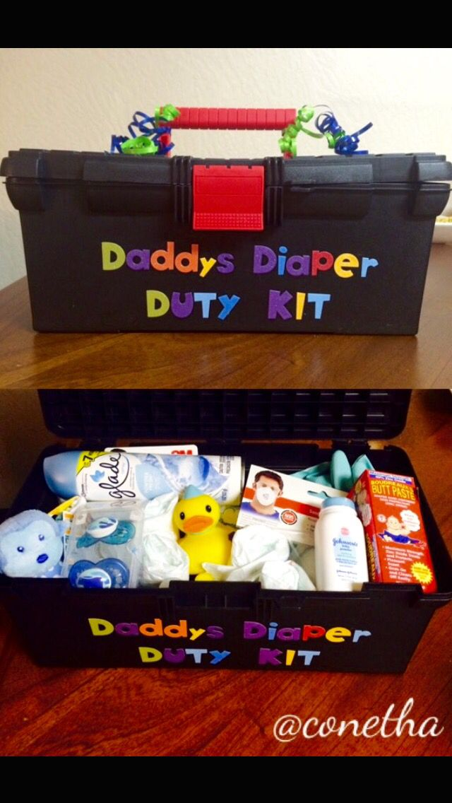 Daddy Diaper Duty Kit! Perfect gift for first time daddy's
