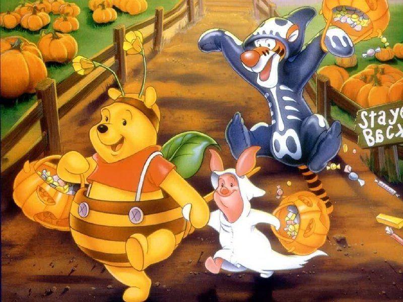 Halloween Halloween Boo Winnie The Pooh Cartoon Winnie