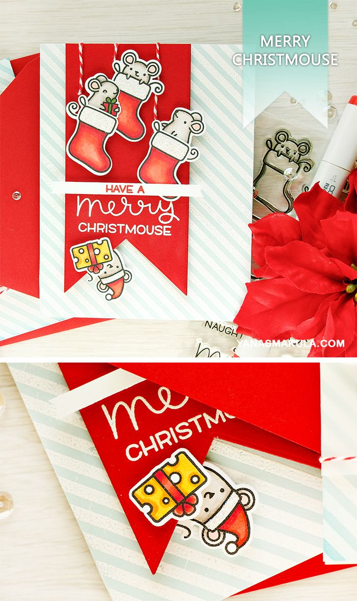 Merry christmouse create funny christmas card using simon says create funny christmas card using simon says stamp and lawn fawn merry christmouse m4hsunfo