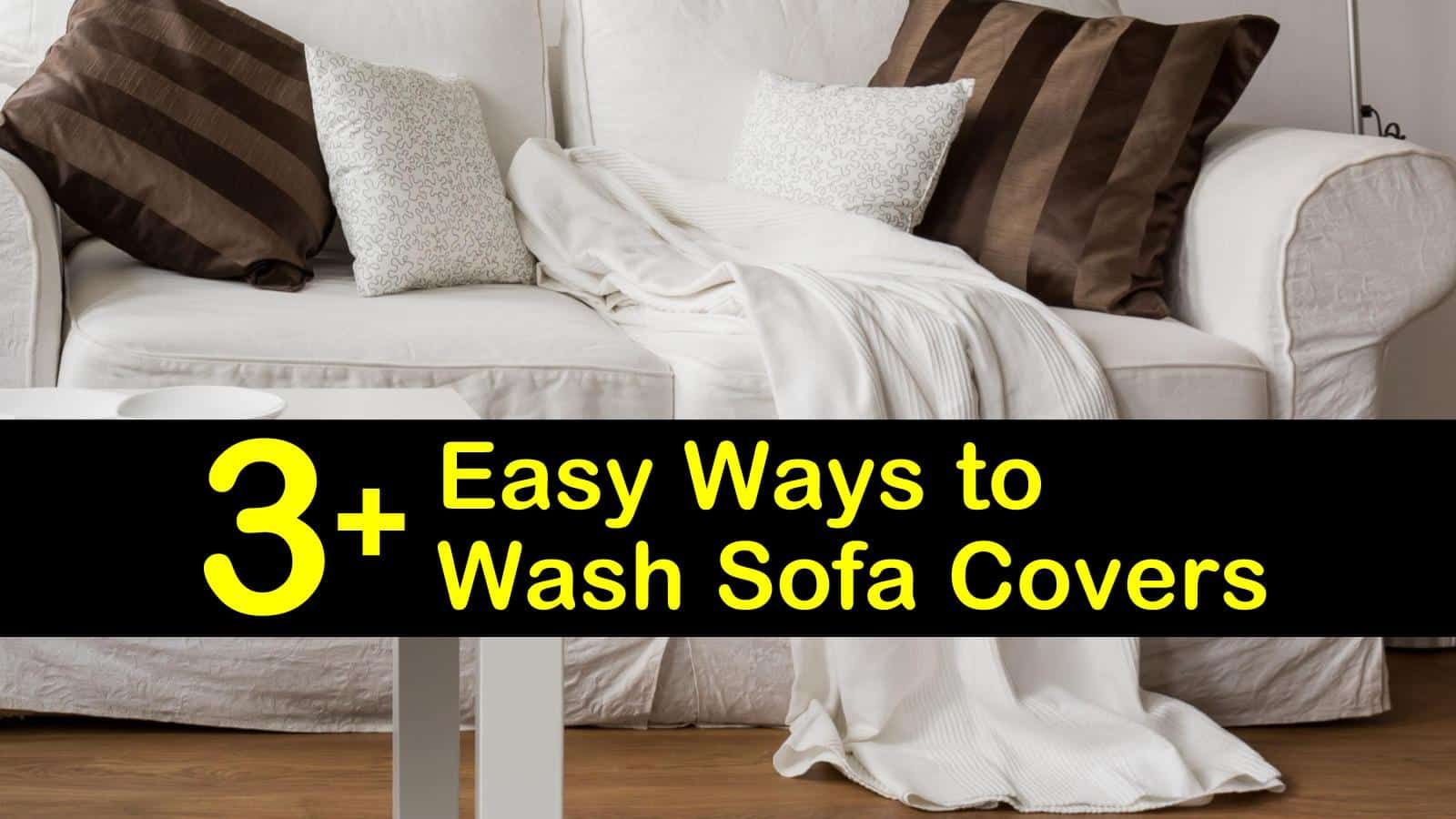 Wash Dry Clean Only Sofa Covers In 2020 Sofa Covers Microfiber Couch Cover Clean Sofa