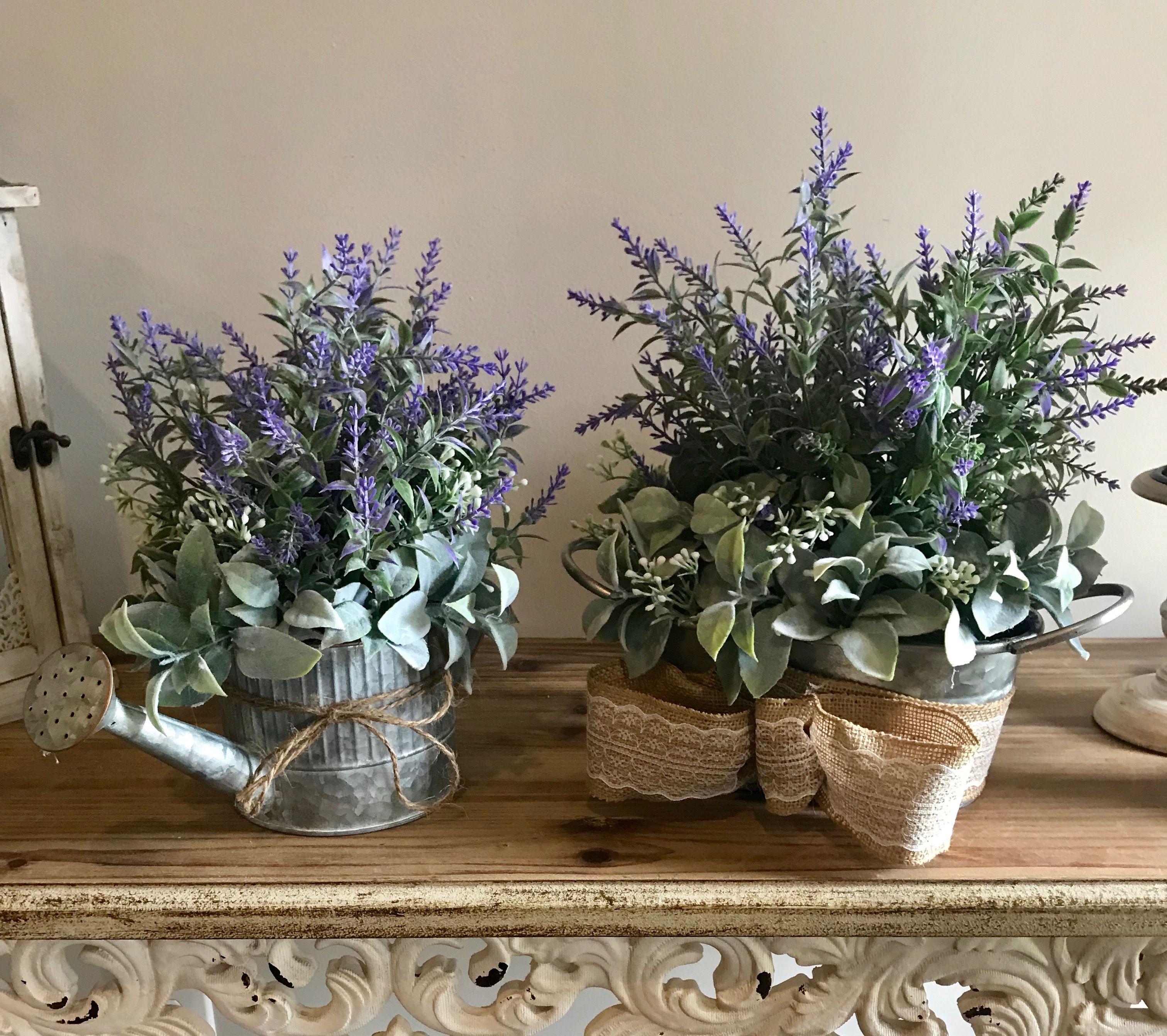 Diy farmhouse flower arrangement easy table arrangement