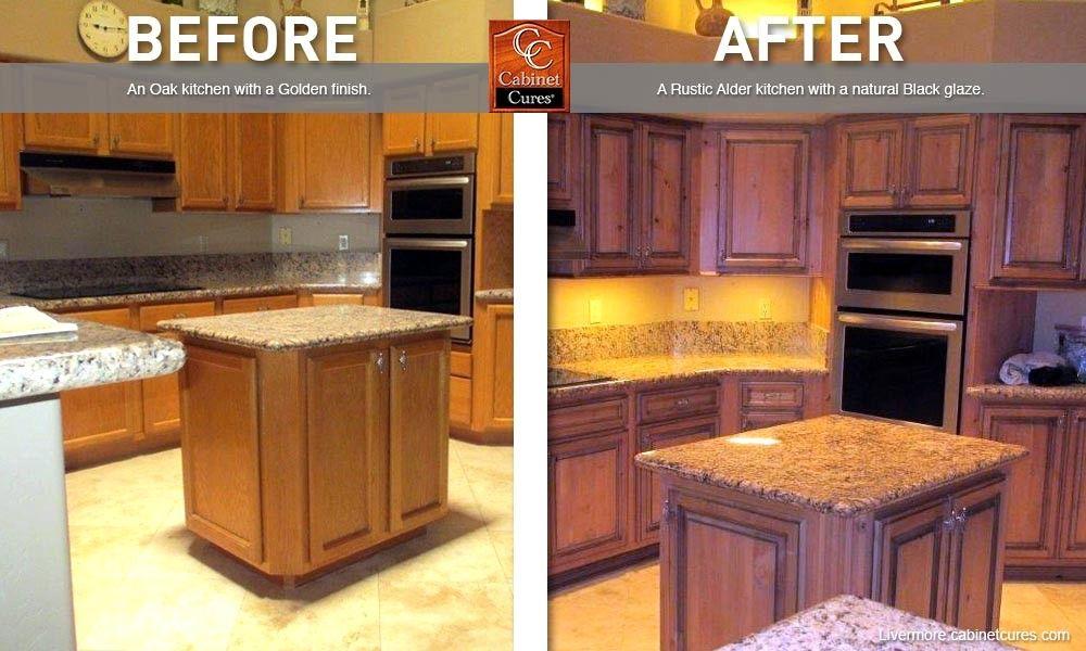 Golden Oak Cabinets New How To Glaze Oak Kitchen Kitchen Redesign Kitchen Cabinets In Bathroom