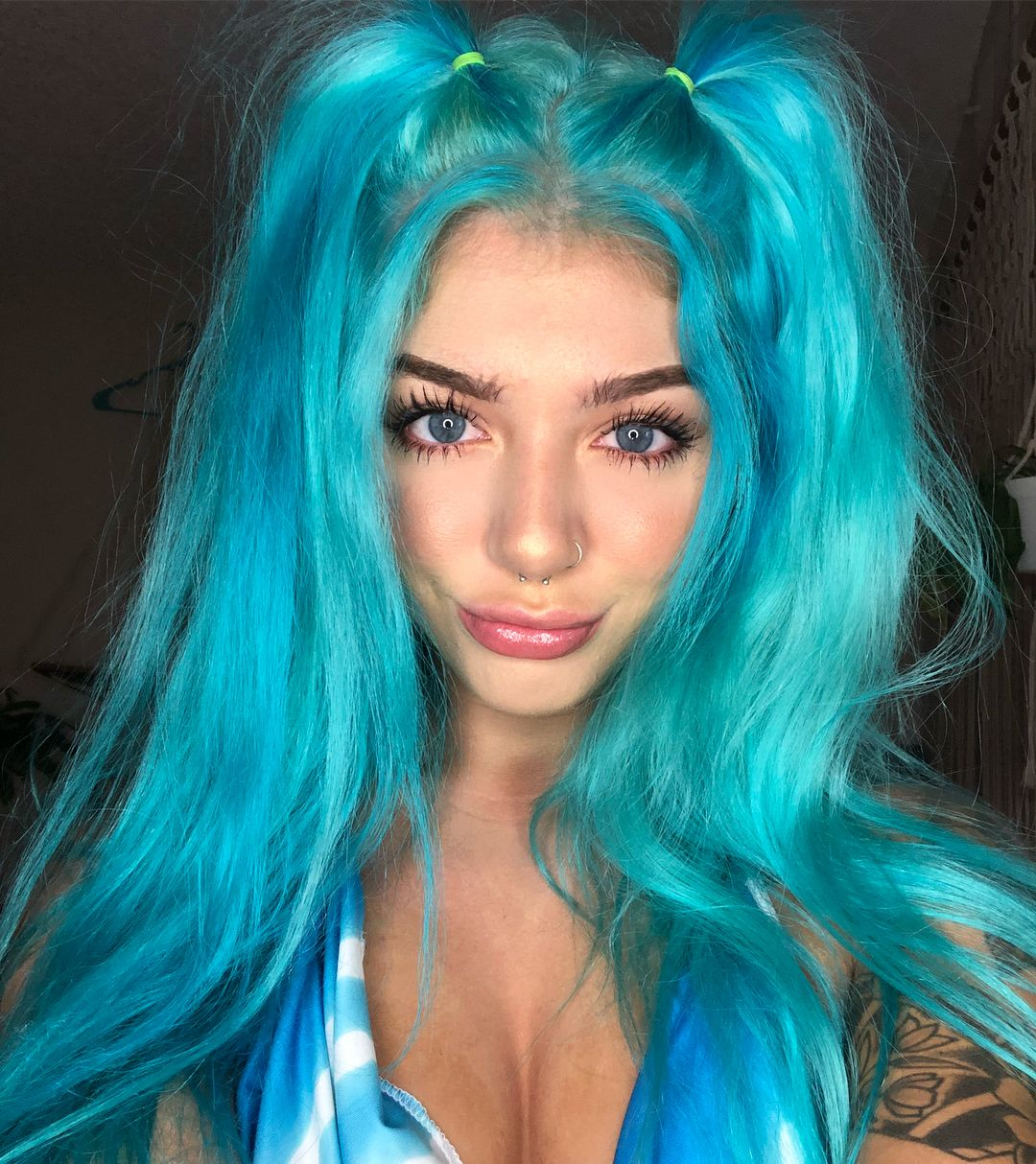 Arctic Fox Hair Color Diluted Aquamarine Turned
