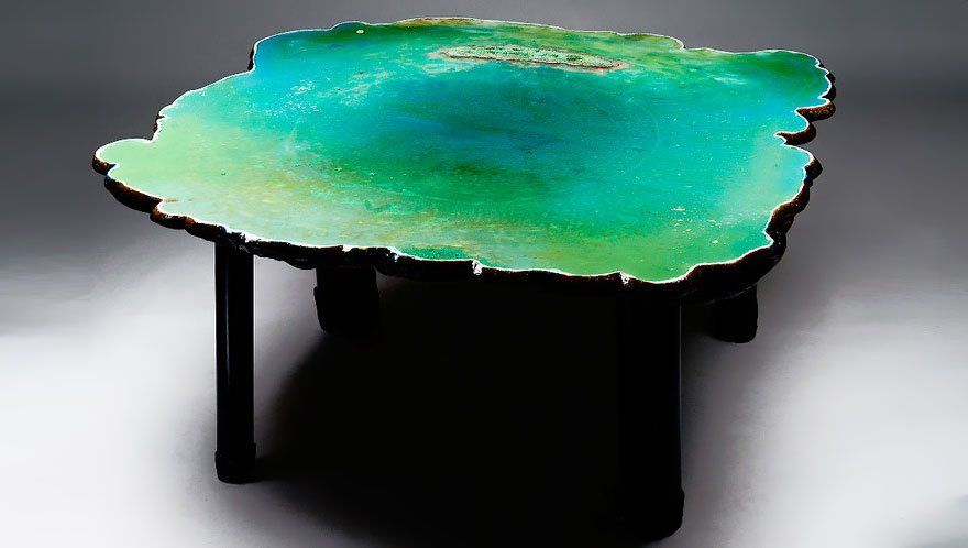 25 mesas criativas e elegantes para salas de casa ou escritorio 9