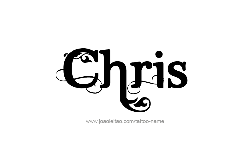 Chris Name Tattoo Designs Name Tattoos Graffiti Names Names