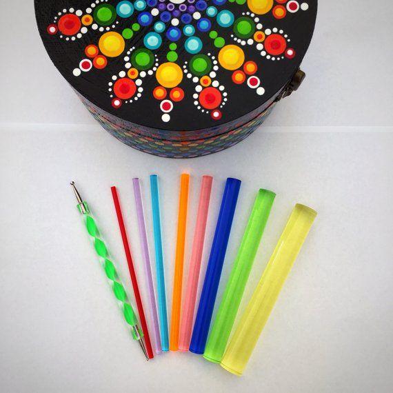 Happy Dotting Tool Set 9 Tools Dot Art Painting Mandala Stylus
