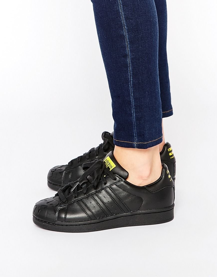 Cheap Adidas Superstar Vulc ADV Black/White/Gold Bonkers Shop!