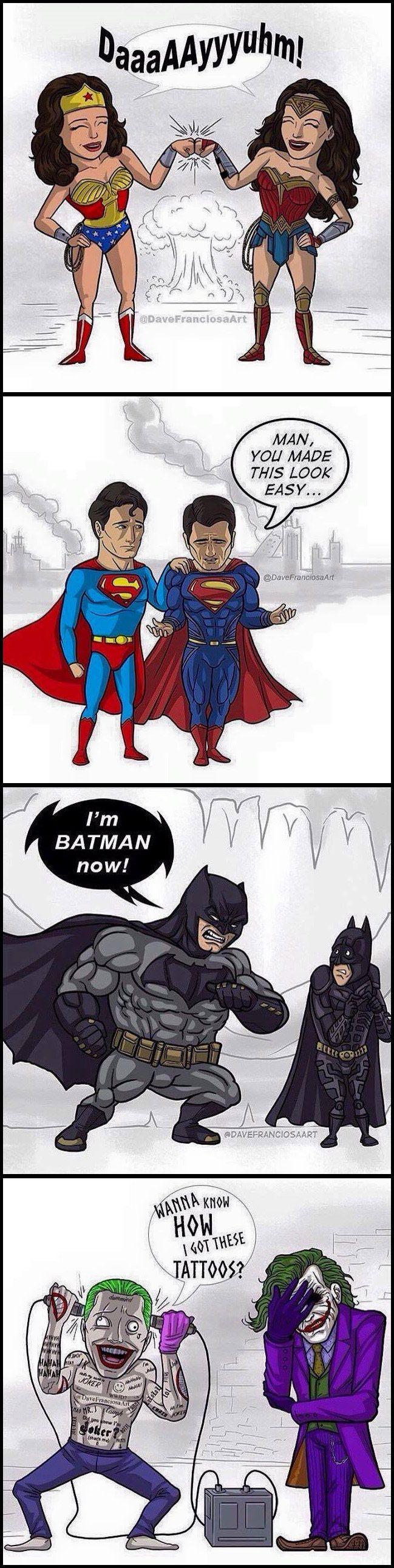 Who are your favorites batman pinterest les super - Batman contre joker ...