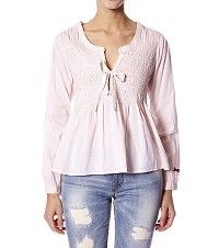 Odd Molly M114-329 cotton embroided blouse Rose