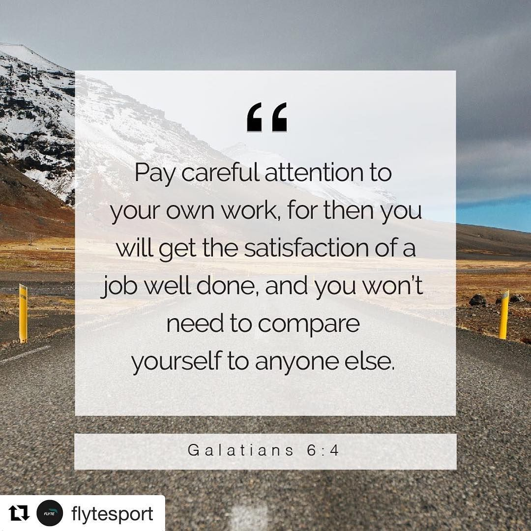 Repost Flytesport With Get Repost Comparison Is The Poison That Will Stunt Your Growth Stay In Your Lane And Keep Your Stunts Growth Mindset Galatians