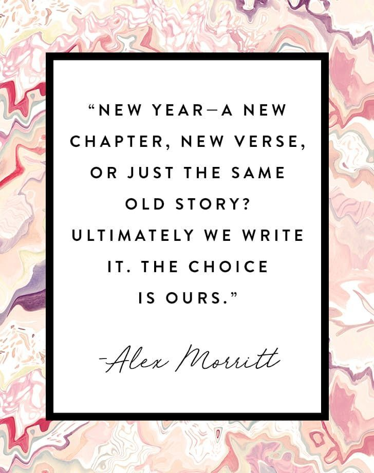 New Year A New Year Chapter Inspirational Pinterest Gorgeous New Year New Me Quote