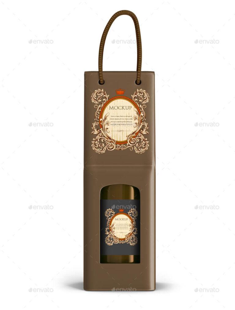 Download 16 Creative Wine Bag Mockup Psd Templates 10 Bag Mockup Wine Bag Wine Bottle Design
