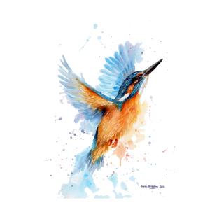 Circular Kingfisher Drawing T Shirts Teepublic Pics In 2019