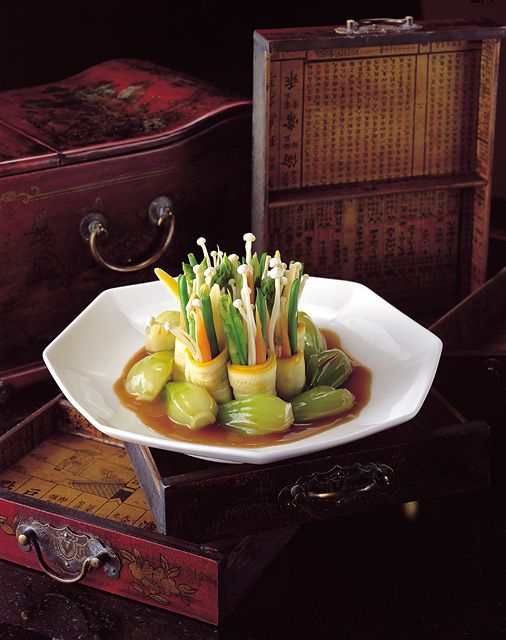 #Shangri-La #Hotel, #Dubai - #Seasonal #Vegetable #ShangPalace