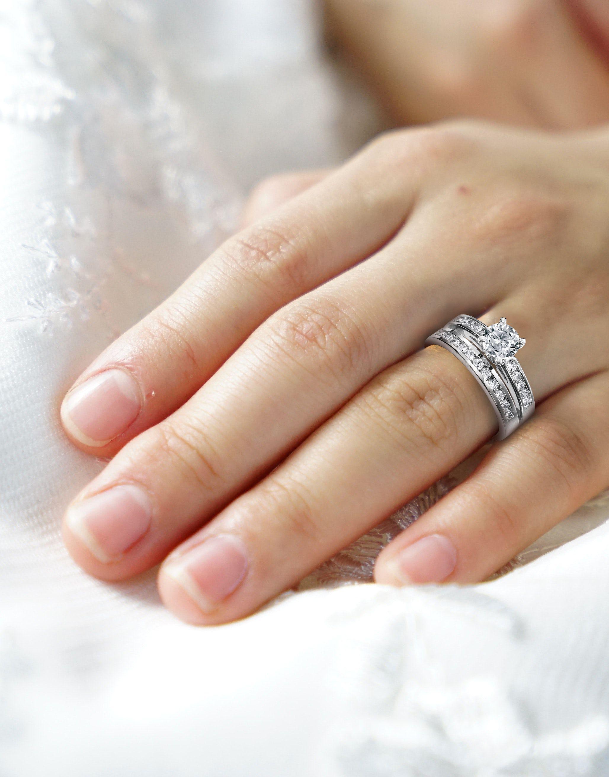 Carrie's Black Diamond Engagement Ring Patricia Field Artfashion