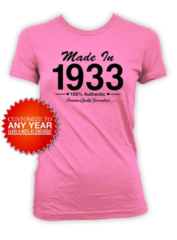 Birthday Gift Ideas For Women 85th Shirt Present Bday Gifts Custom T Her
