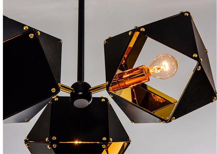 Photo of Postmoderner Designer Metal Creative Nordic Chandelier für die Dekoration der Restaurantbar