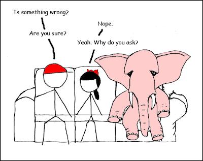 Funny Elephant In The Room Cartoon Psychotherapy Humor Therapy Humor Funny Elephant