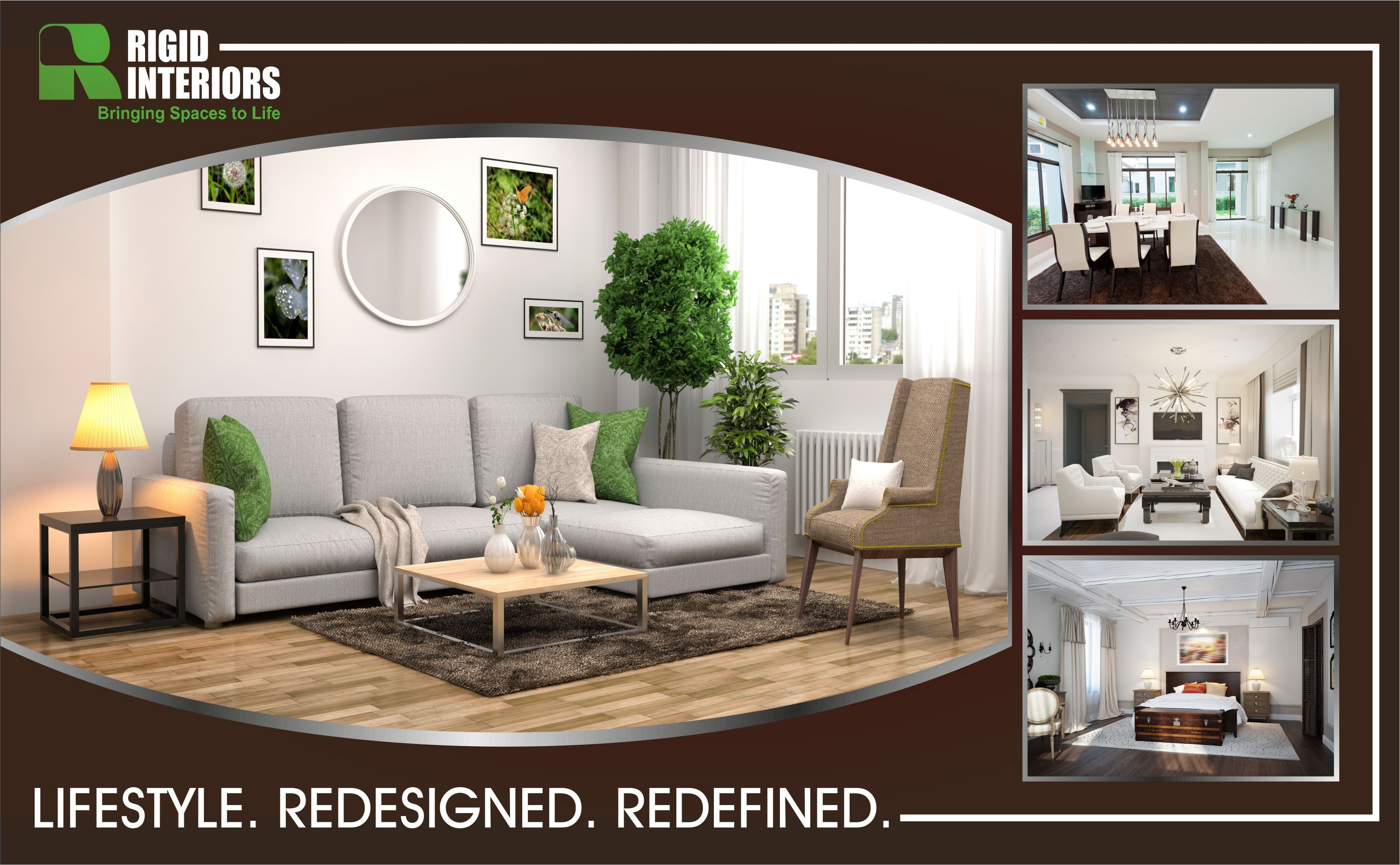 One Of The Best Interior Design Companies In Dubai, Rigid Interior Offers  Bespoke Designing Solutions That Fits All Your Requirements.