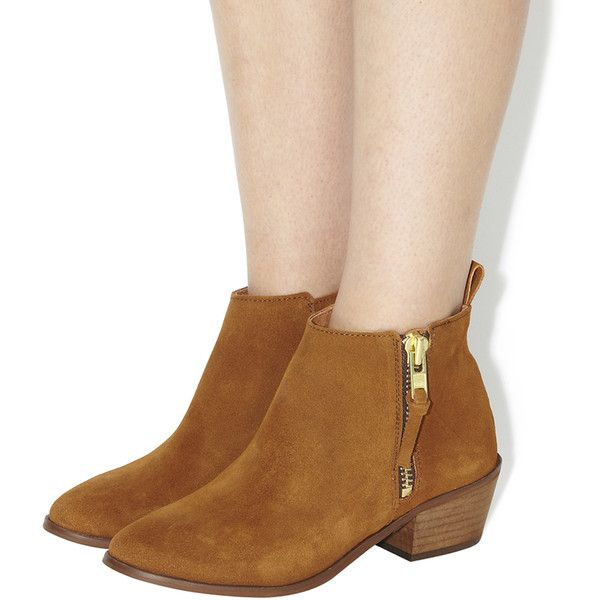 Office Imposter Side Zip Ankle Boots 115 Liked On Polyvore Featuring Shoes