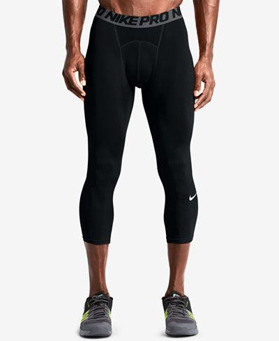 4a4a28bd47d45 Nike Men's Pro Cool Dri-FIT 3/4 Compression Leggings | fashion ...