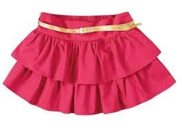 7a9e0999c Resultado de imagem para saias infantil de tecido | fabia | Saia ...