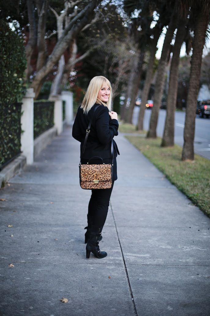 @Chassity Evans accents her black outfit with our #Fossil ...